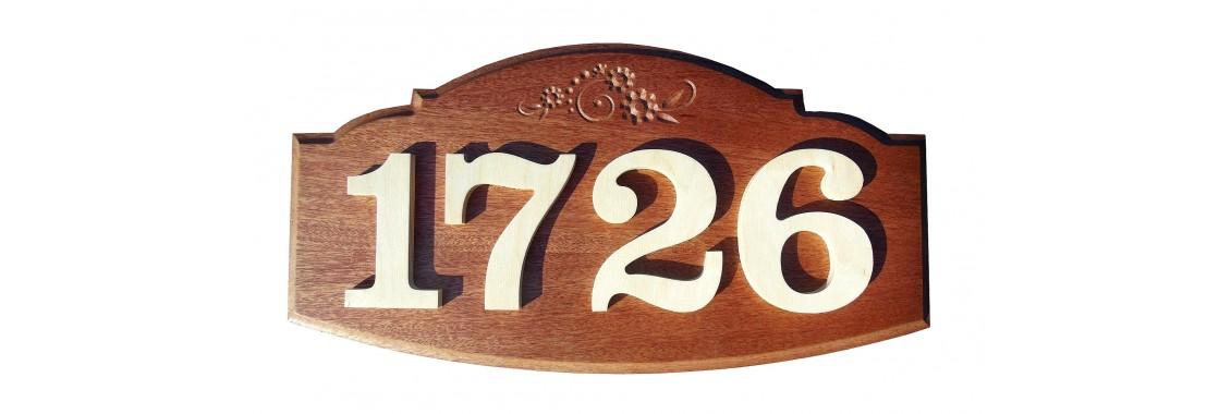 Plaque d'adresse